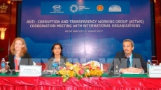APEC seeks technical support from sponsors for corruption prevention