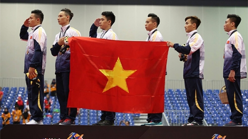 Gymnasts claim fourth gold for Vietnam at SEA Games 29