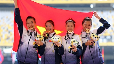 SEA Games: Vietnam wins historic 4x100m relay gold medal