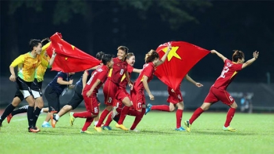 Vietnam's female football team crowned SEA Games champions