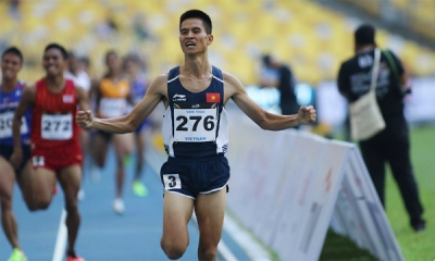 Track and field: Vietnam dominates 1,500m distance