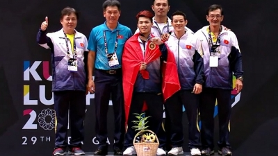 SEA Games: Second gold medal for Vietnamese weightlifting