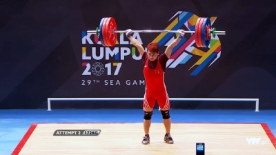 SEA Games 29: Weightlifters win more gold medals
