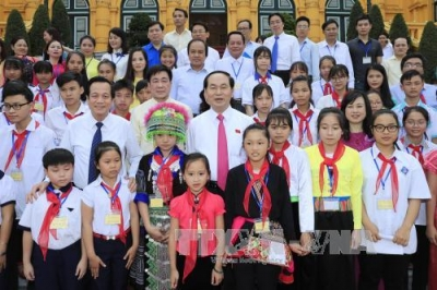President conveys his best wishes for education sector in new school year