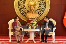 Laos congratulates Vietnam on 72nd anniversary of National Day
