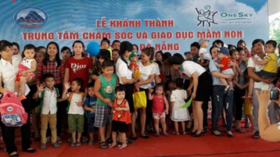 US-funded early childhood education centre for workers' children inaugurated in Da Nang