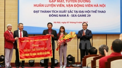 Hanoi's SEA Games heroes honoured