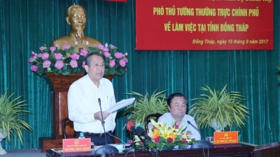 Dong Thap urged to boost growth of economic sectors
