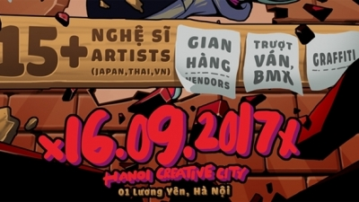 Music and Street Art Festival to rock Hanoi youth