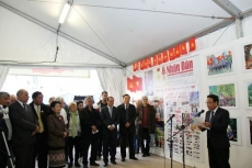 Nhan Dan newspaper opens pavilion at L'humanite festival