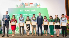 Honouring innovative climate ideas of Vietnamese start-ups