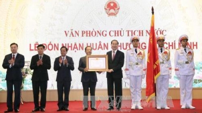 Presidential Office awarded Ho Chi Minh Order