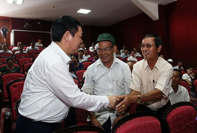 Deputy Prime Minister meets voters in Ha Tinh