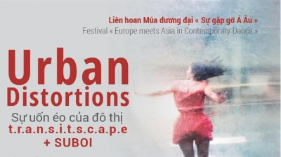 "October 9-15: Contemporary Dance ""Urban Distortions"" / transitscape + SUBOI in HCMC"