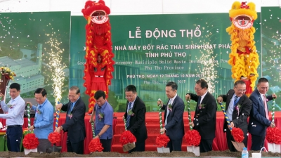 Phu Tho commences construction of first waste-to-energy plant