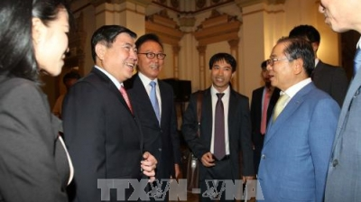 City promotes investment connection with Korean firms