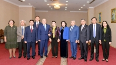 NA Chairwoman meets First Secretary of the Communist People's Party of Kazakhstan