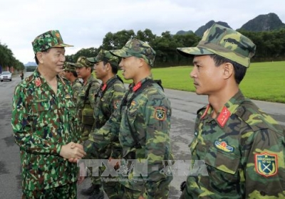 President works with Defence Ministry