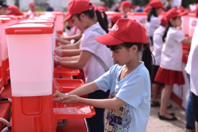 Vietnam responds to Global Handwashing Day