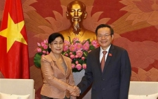 NA Vice Chairman receives Laos State Audit chief