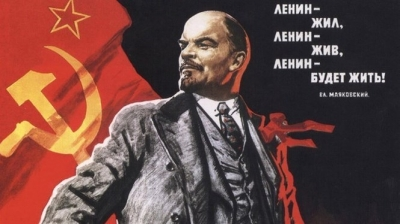 Russian October Revolution's ideology shines forever