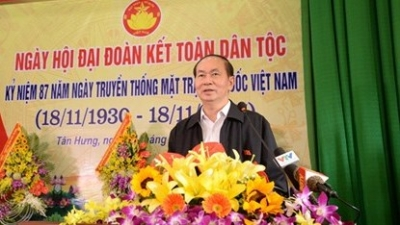 President attends great national unity festival in Bac Giang