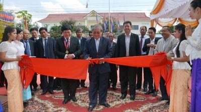 Cambodia inaugurates Vietnam-funded broadcast station project's phase I