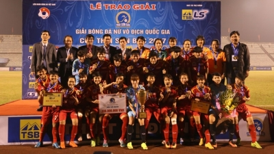 HCM City claims national women's football title