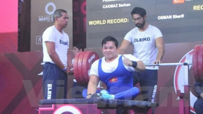 More silver for Vietnamese lifter at World Para Championship