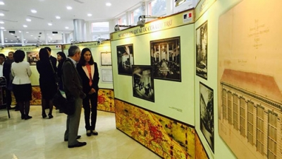 Exhibition highlights French culture's imprint on Hanoi