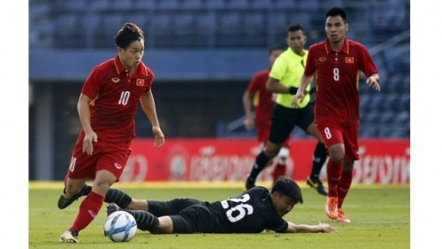 Cong Phuong's double helps Vietnam U23 finish third at M-150 Cup