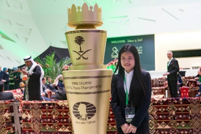 Thao Nguyen finishes fifth at World Rapid Championship