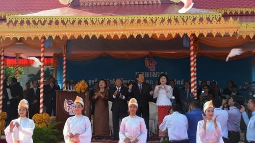 Cambodia's largest-ever ceremony marks victory over Pol Pot