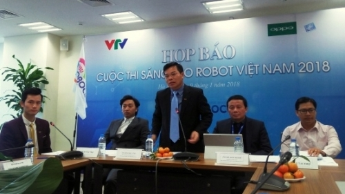 VTV launches Vietnam Robot Contest 2018
