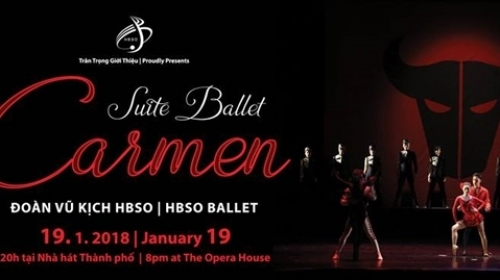 "January 15-21: A Night of Ballet ""Suite Ballet Carmen"" in HCMC"