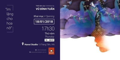 January 22 – 28: Silk Painting Exhibition in Hanoi