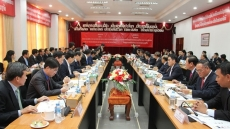 Ho Chi Minh City Party Committee Secretary visits Vientiane