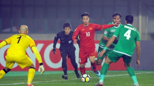 Vietnam U23 prepare to take on Qatar in semi-finals