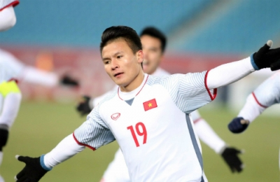 Midfielder Quang Hai tops poll for best goal at AFC U23 Championship