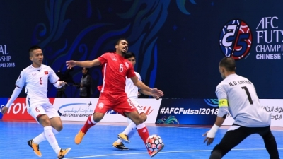 Vietnam kindle hopes at regional futsal champ after narrow win over Bahrain