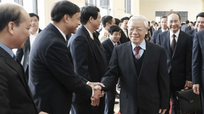 Thai Binh ceremony remembers late Party leader Nguyen Duc Canh