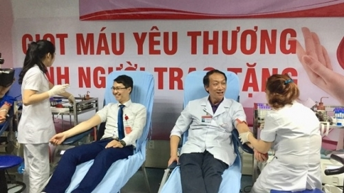 Thousands of health workers respond to blood donation festival