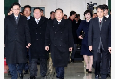 DPRK delegation meets with RoK's top presidential national security advisor: media