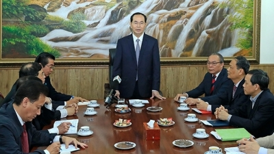 President works with Judicial Reform Steering Committee's standing office
