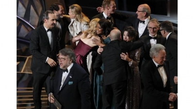 'Shape of Water' wins big at Oscars