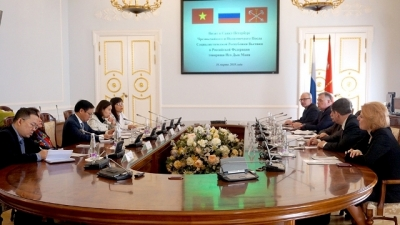 Saint Petersburg wishes to promote cooperation with Vietnam
