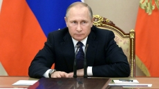 Party chief congratulates re-elected President Vladimir Putin