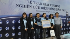East Sea research works awarded in Hanoi