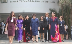 Vietnam, RoK's first ladies visit ethnology museum