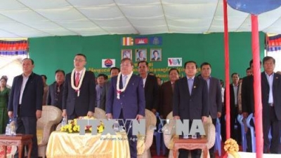 Vietnam funds Cambodia's newly opened broadcast station